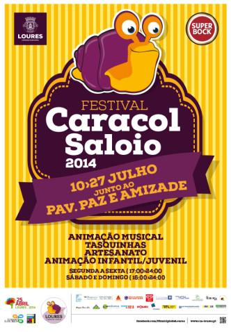 Festival Caracol Saloio Loures 2014