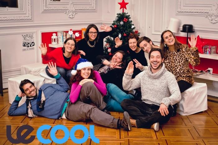 Le Cool Lisboa - Capa de Natal