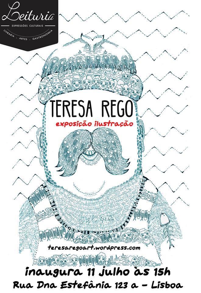 Exposição-ilustração-Teresa-Rego -Leitura