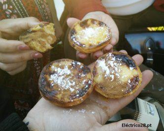 Os deliciosos Pastéis de Nata da Manteigaria deram um pulinho ao Eléctrico 28. Vem prová-los!