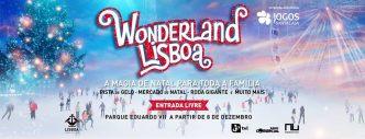 A magia acontece na Wonderland Lisboa! Pista de gelo, roda gigante e claro uma visita ao Pai Natal! A diversão é mais do que garantida :D