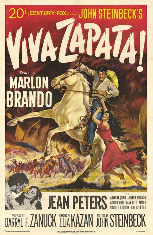 Viva Zapata!, filme sobre o revolucionário mexicano Emiliano Zapata, é o filme desta semana da Casa da Achada - Centro Mário Dionísio.
