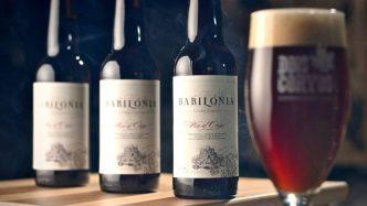 Estás convidado para a estreia oficial da Babilónia no Tap Room da Dois Corvos. Esta é uma uma Barleywine de 10% envelhecida...