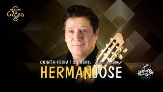 Herman José apresenta no Mercado de Algés o seu One (Her)Man Show. Vem passar uma divertida noite junto deste grande artista português!