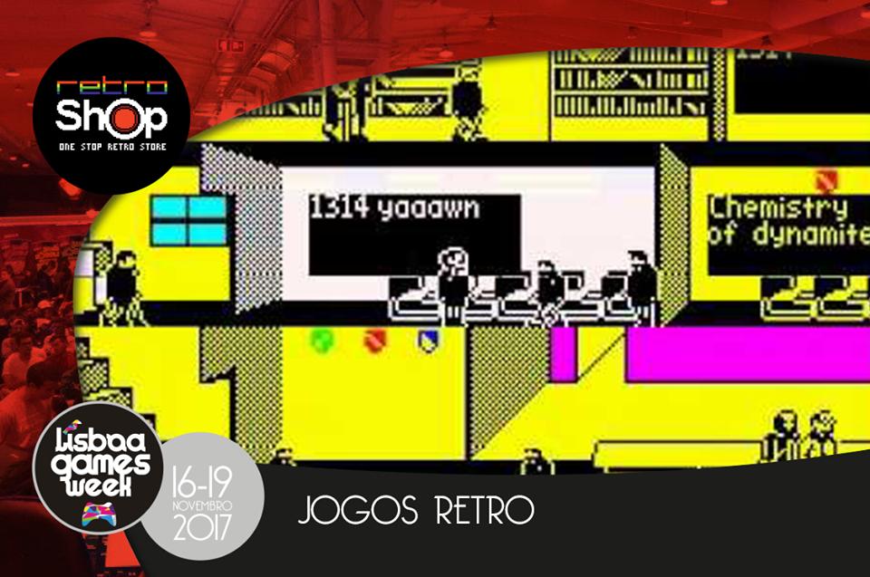 Os grandes clássicos dos videojogos estão à tua espera na Lisboa Games Week!