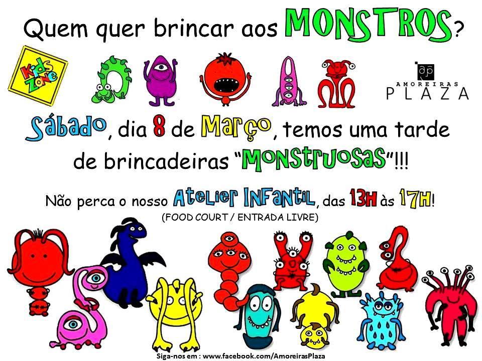 Monstros 8 de Março