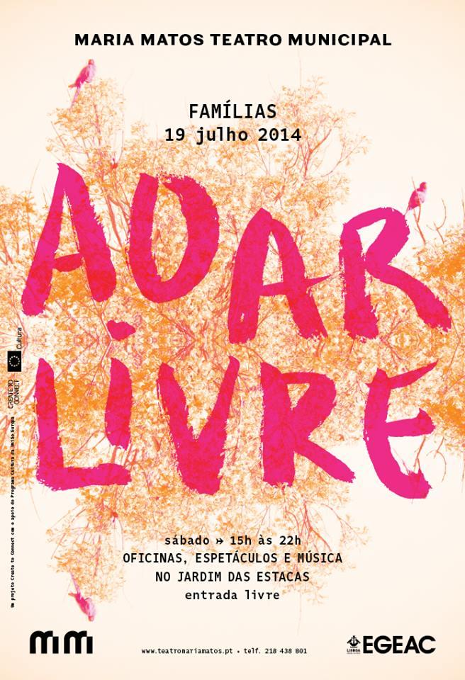 Ao ar Livre 2014 Teatro Maria Matos