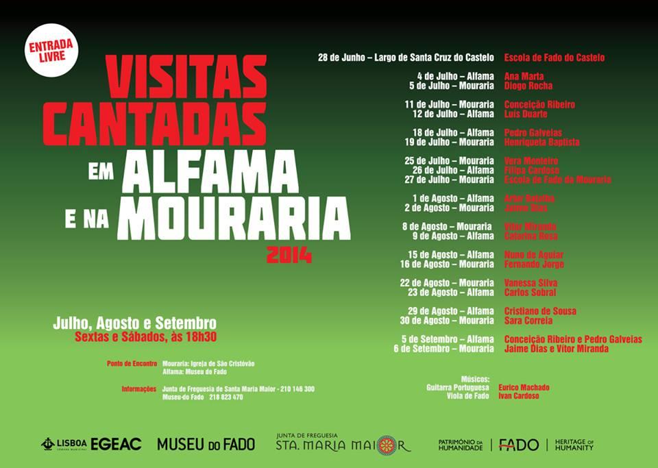 Visitas cantadas Alfama Mouraria - Programa Completo