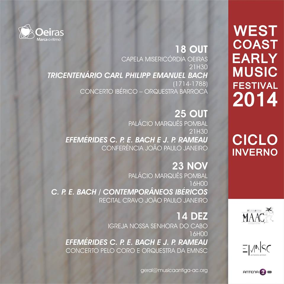 West Coast Early Music Festival 2014
