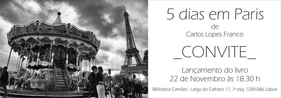 5 dias em Paris