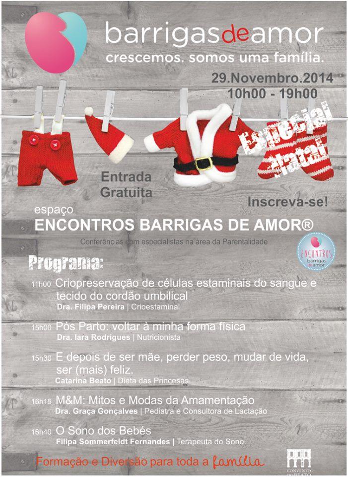 BARRIGAS DE AMOR® ESPECIAL NATAL - Programa