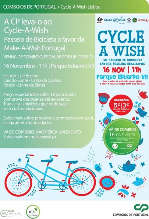 Cycle-A-Wish Lisboa CP