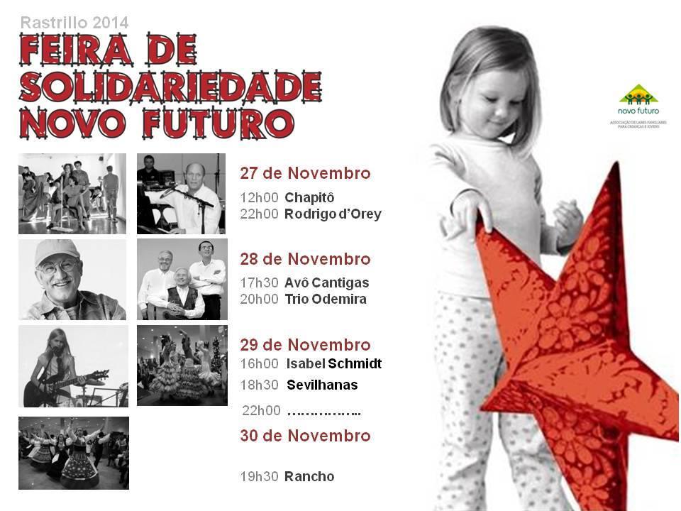 Feira de Solidariedade Novo Futuro - RASTRILLO 2014 - Animação