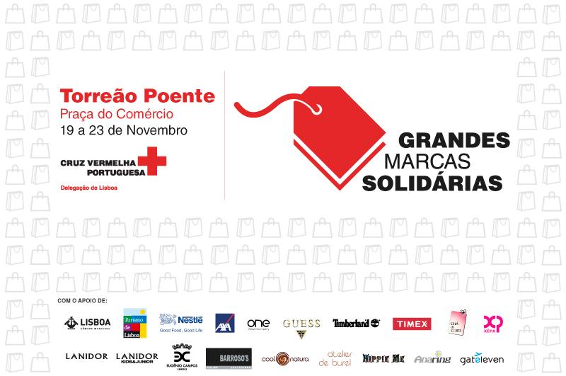 Grandes Marcas Solidárias - Cruz Vermelha Portuguesa