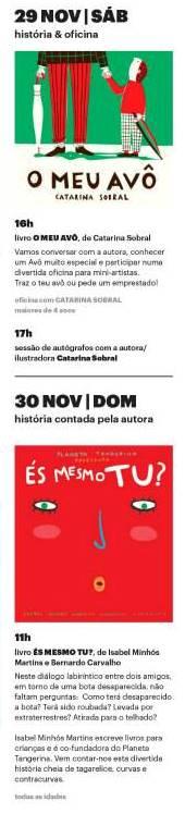 Orfeu Mini Livraria - 29-30 Novembro
