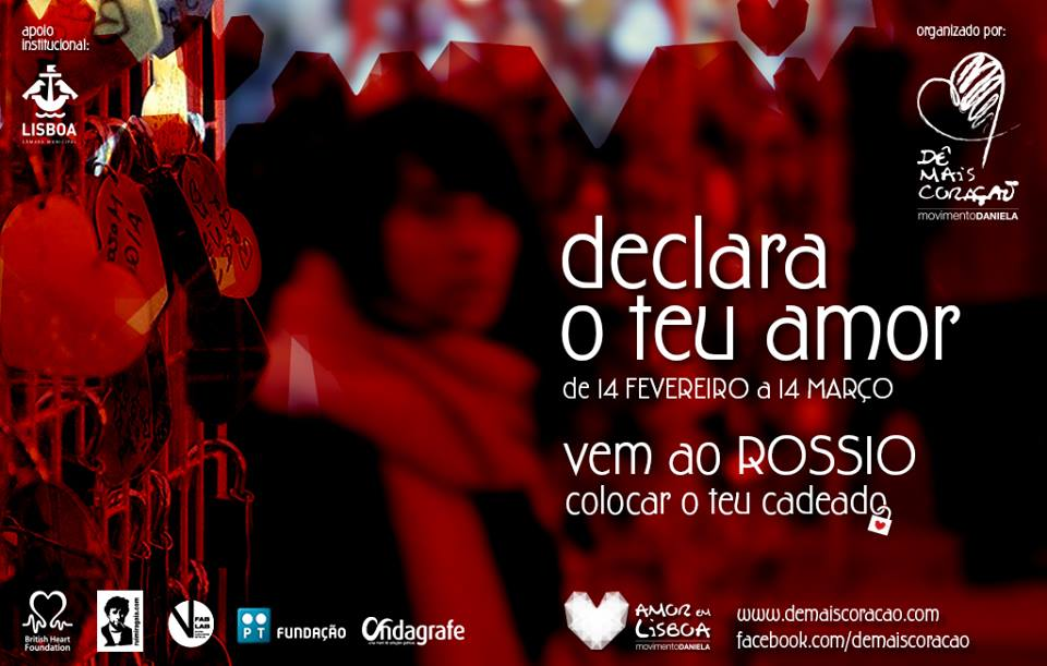 Amor em Lisboa - Dê mais Coração - Movimento Daniela