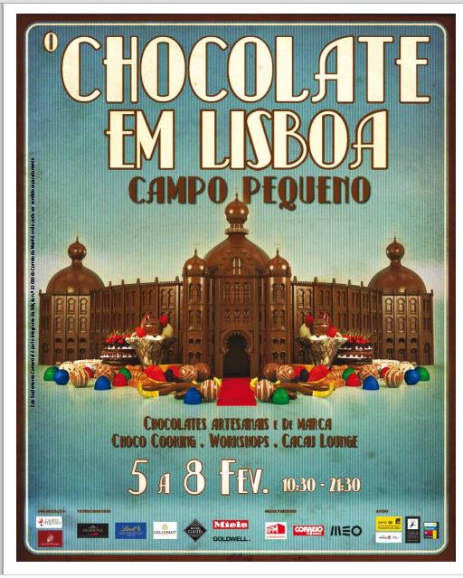 Chocolate em Lisboa - campo Pequeno
