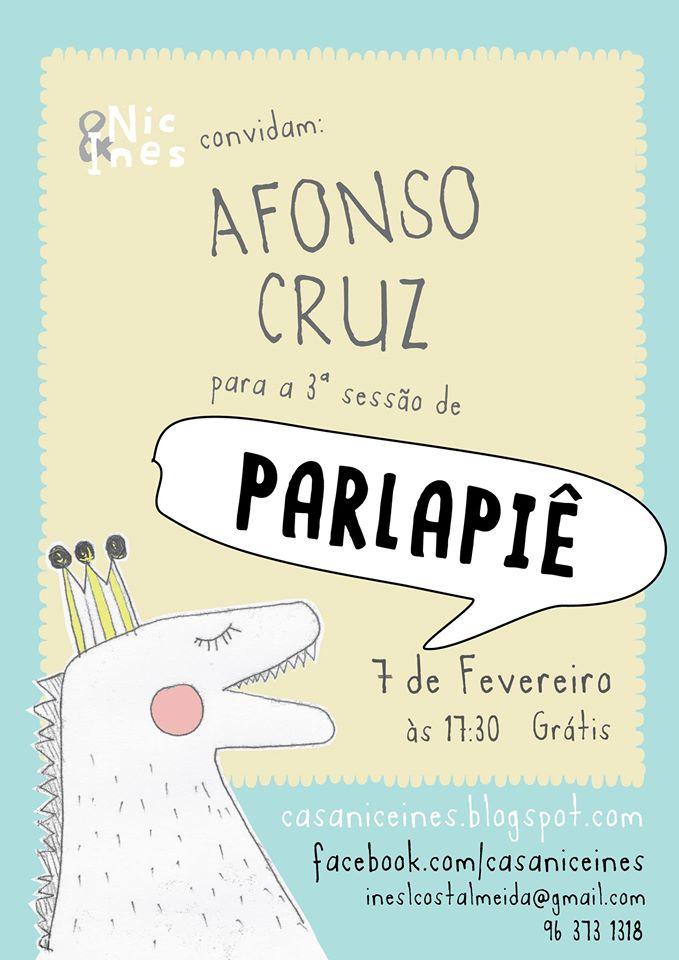 Parlapiê com AFONSO CRUZ