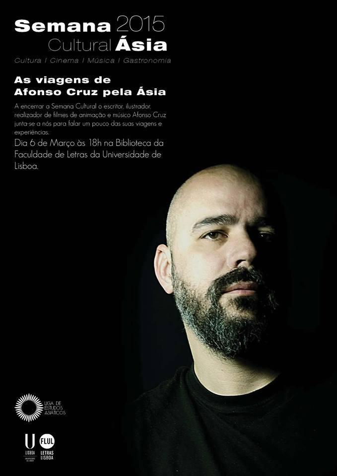 As viagens do escritor Afonso Cruz pela Ásia