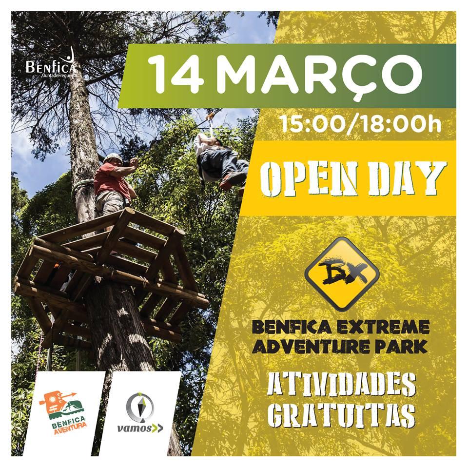 BenficaAventura - Open Day - 14 e Março