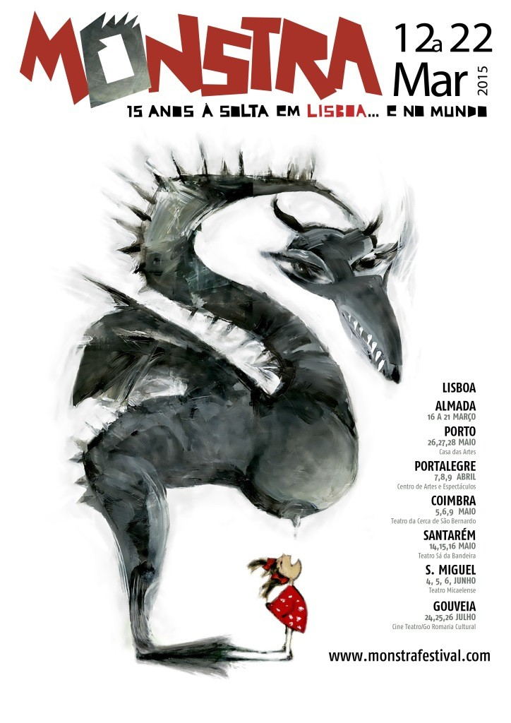 Cartaz Monstra 2015