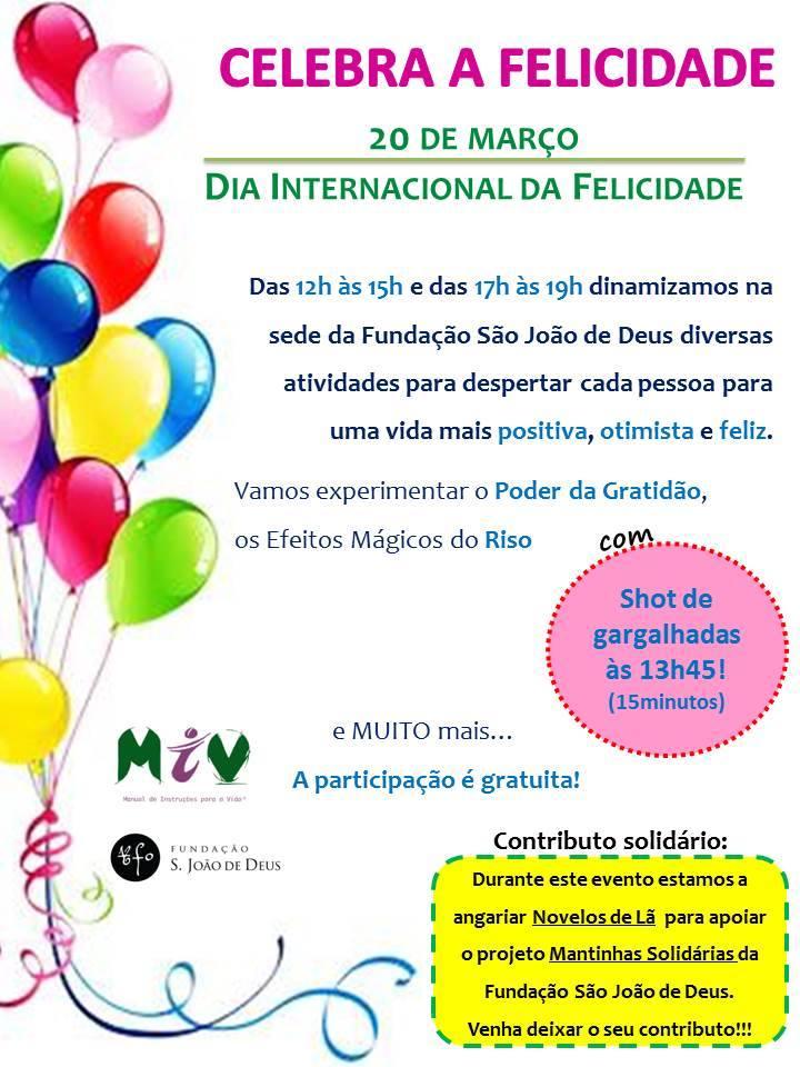 Celebração Miviana do Dia Internacional da Felicidade