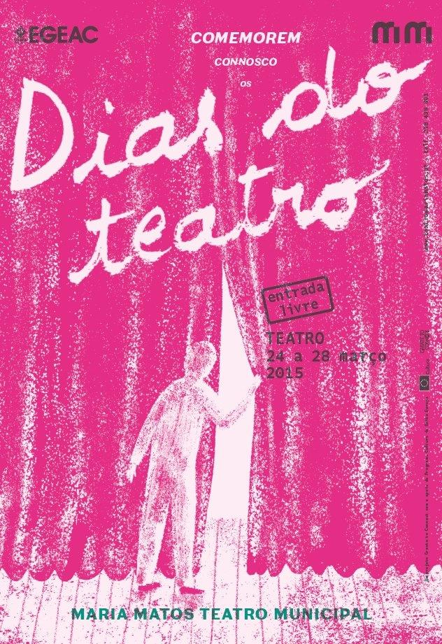 Dia Mundial do Teatro - Dias do teatro - Teatro Maria Matos