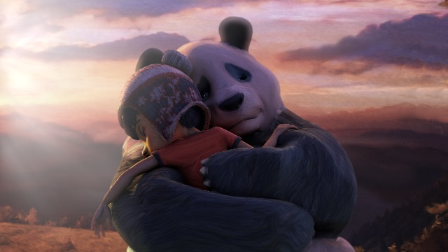 Eu e o meu Panda de Estimação