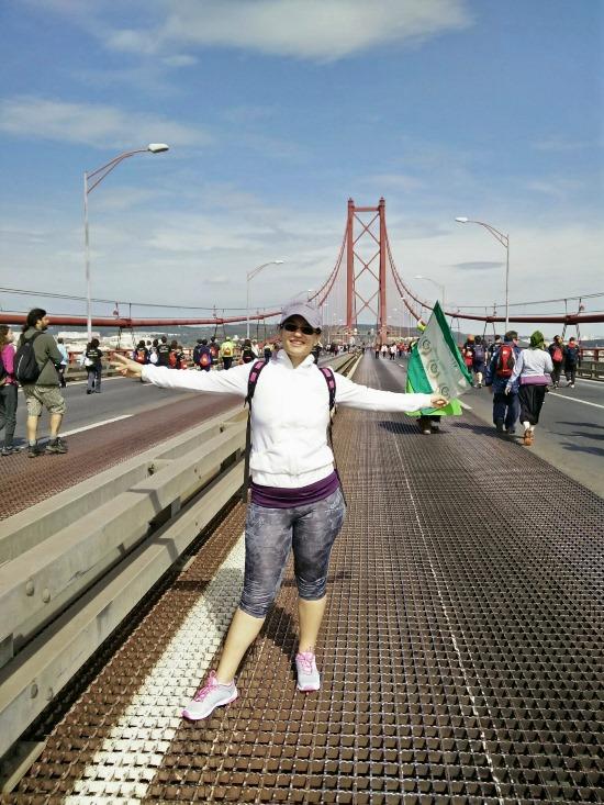 Eu na Ponte 25 de Abril