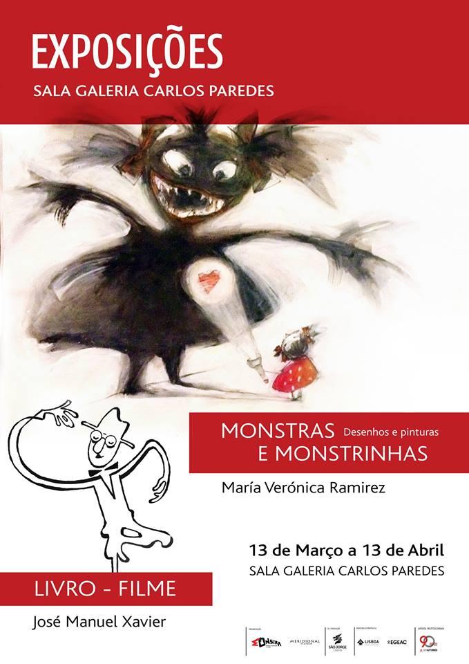 Exposição MONSTRA e MONSTRINHAS & Livro - Filme