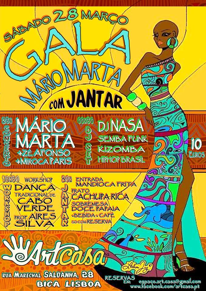 GALA MÁRIO MARTA @ArtCasa