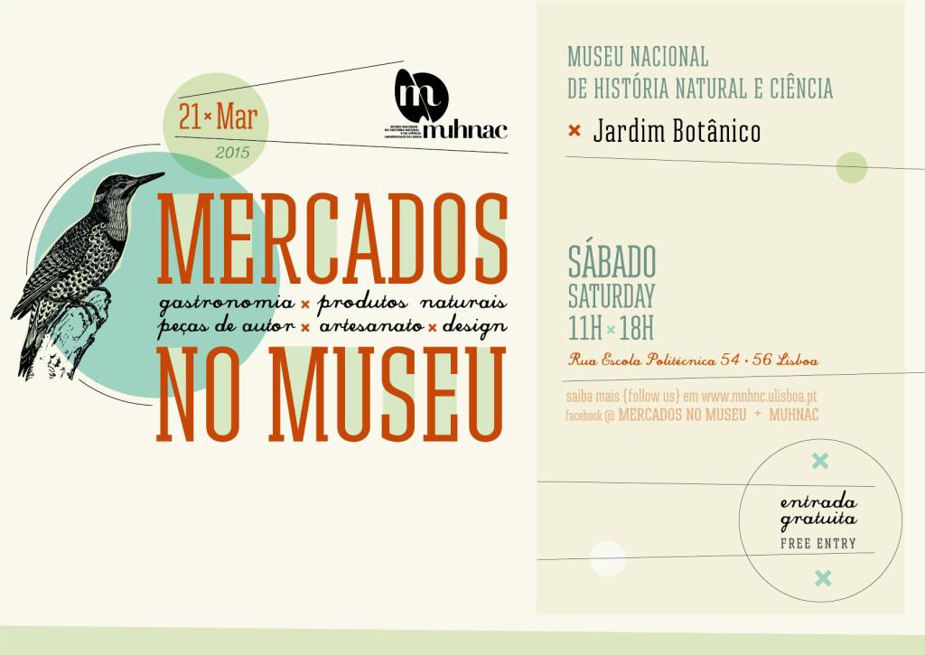 Mercados no Museu - Museu Nacional de História Natural e Ciência - Março