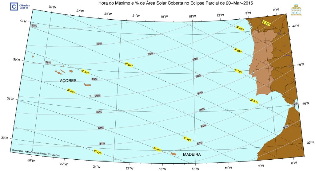 Portugal Eclipse Solar Março 2015