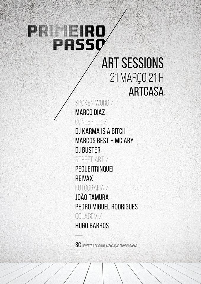 Primeiro Passo - Art Sessions @ ArtCasa