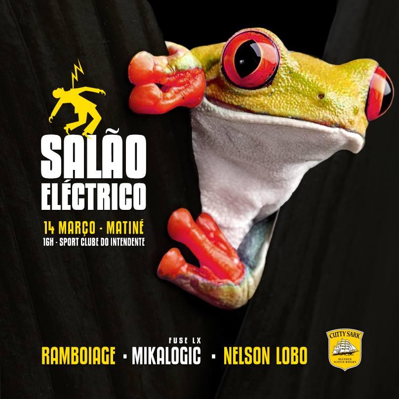 Salão Eléctrico - 14 Março - Matiné - Sport Clube do Intendente