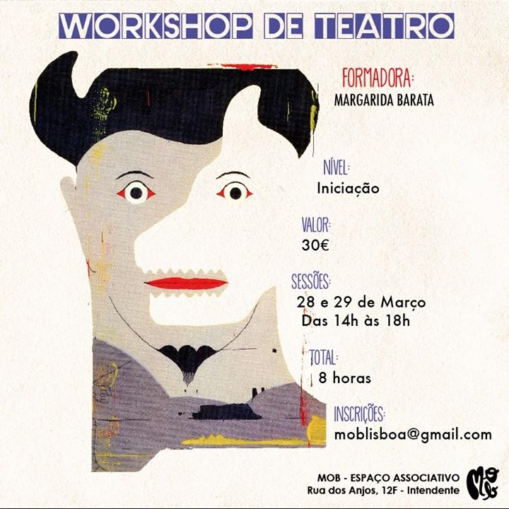 Workshop de Teatro - Margarida Barata