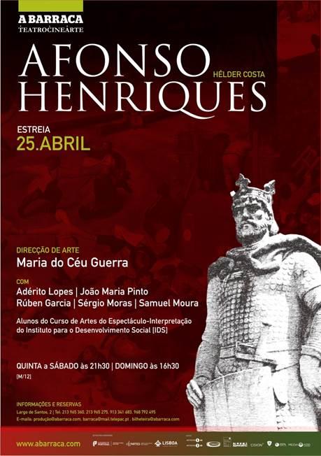 Afonso Henriques de Hélder Costa Teatro A Barraca