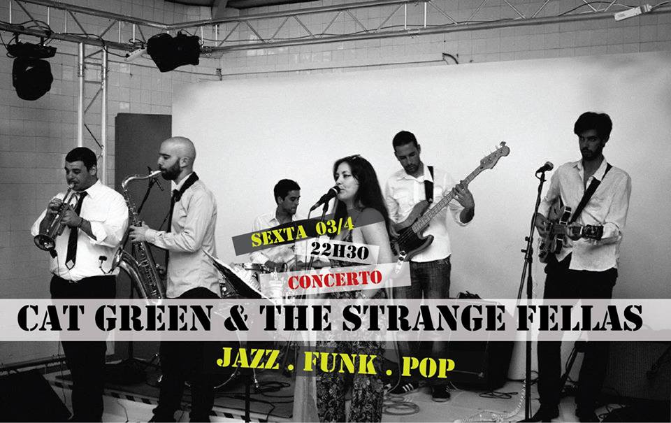 CAT GREEN & THE STRANGE FELLAS