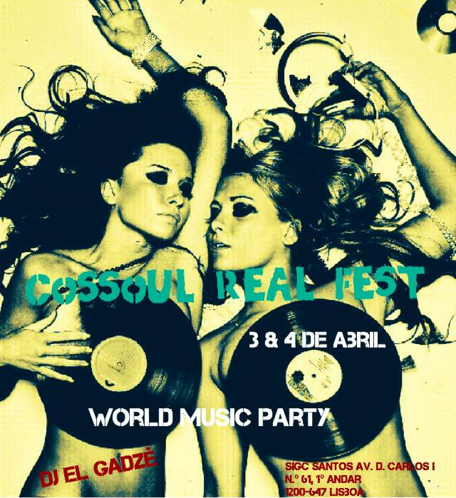 Cossoul Real Fest - World Music Party