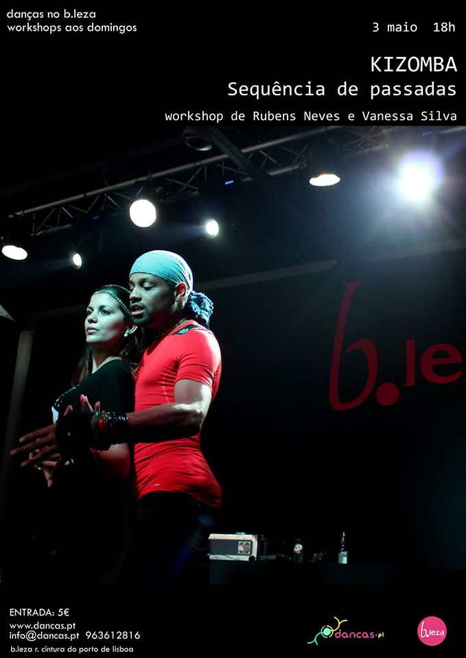 KIZOMBA workshop de Rubens Neves e Vanessa Silva
