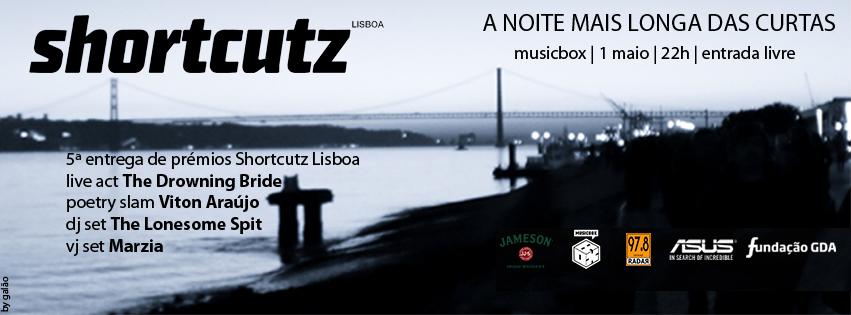Prémios Shortcutz Lisboa - 5ª Edição
