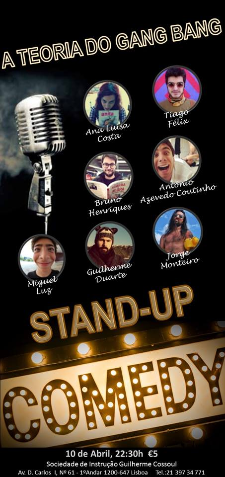 Stand Up Comedy - A Teoria do Gang Bang
