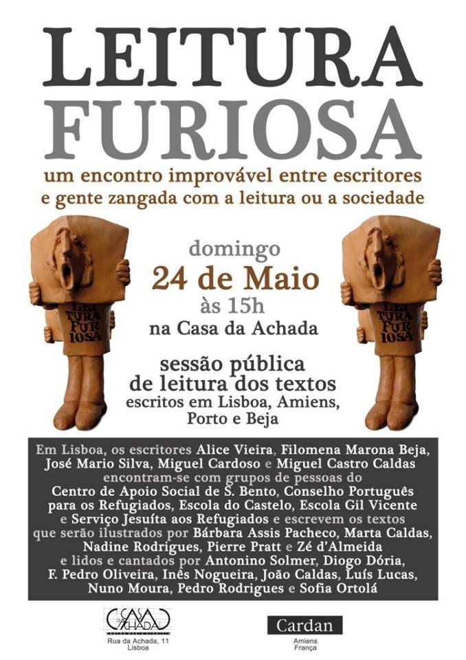 LEITURA FURIOSA Centro Mário Dionísio