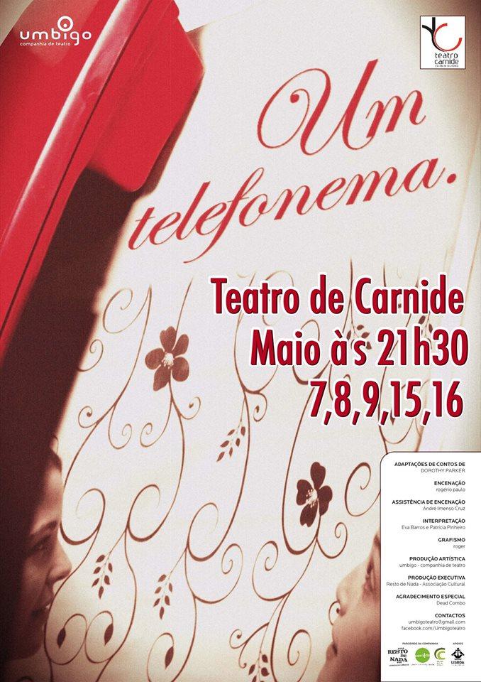 UM TELEFONEMA Teatro de Carnide