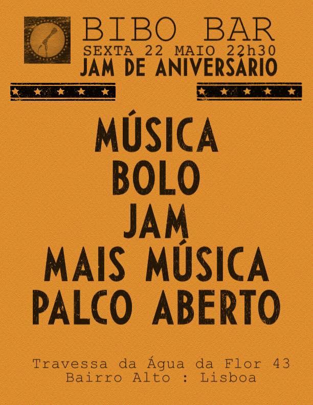Bibo Bar Jam Aniversário