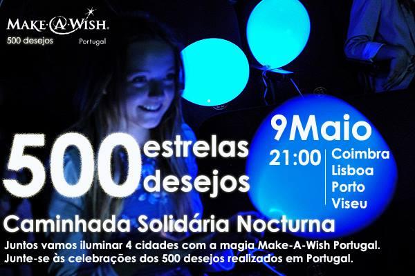CAMINHADA NOCTURNA - 500 DESEJOS - Make-A-Wish Portugal
