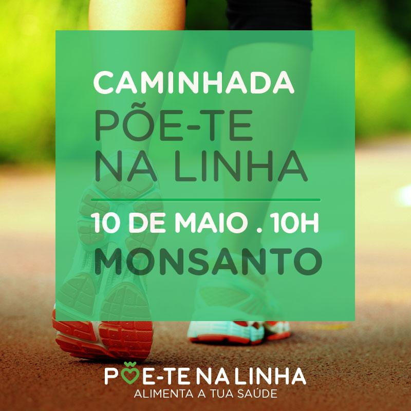Caminhada Põe-te na linha - Monsanto