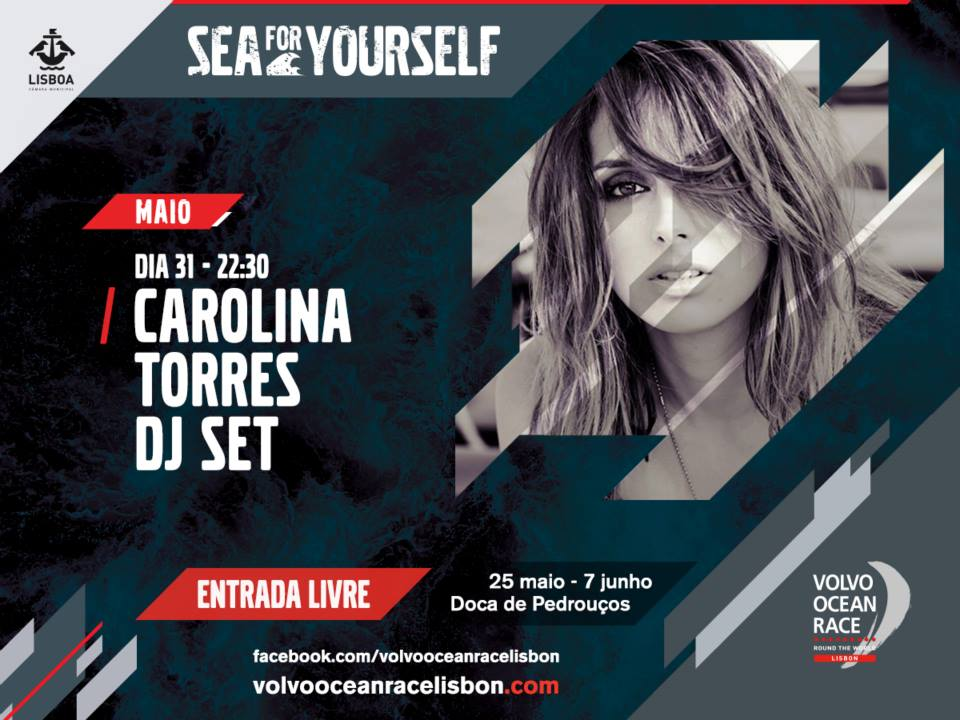 Carolina Torres - Volvo Ocean Race Lisbon