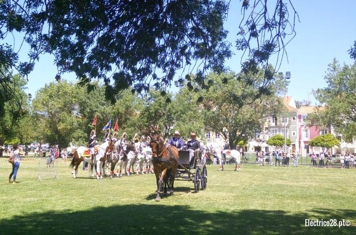 Carruagem e Charanga a cavalo da GNR