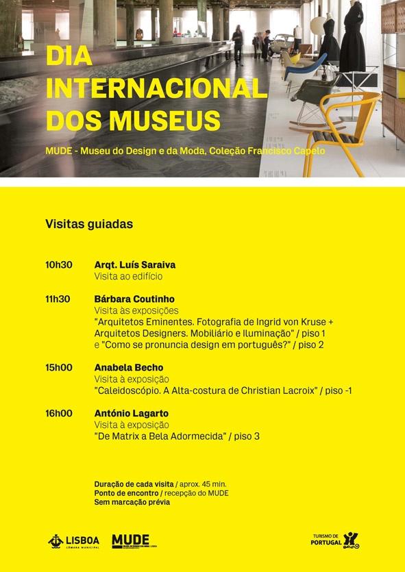 Dia Internacional dos Museus - MUDE